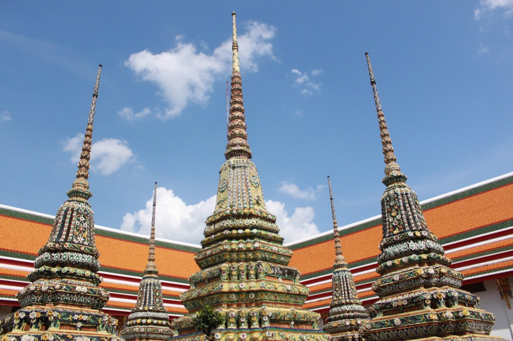 Temple spires