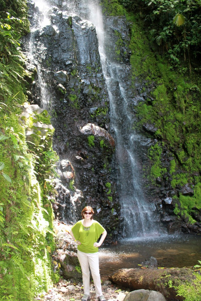 Waterfalls are everywhere in Costa RIca!