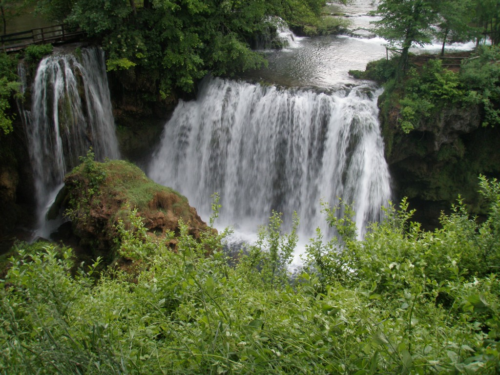 bosnia waterfall