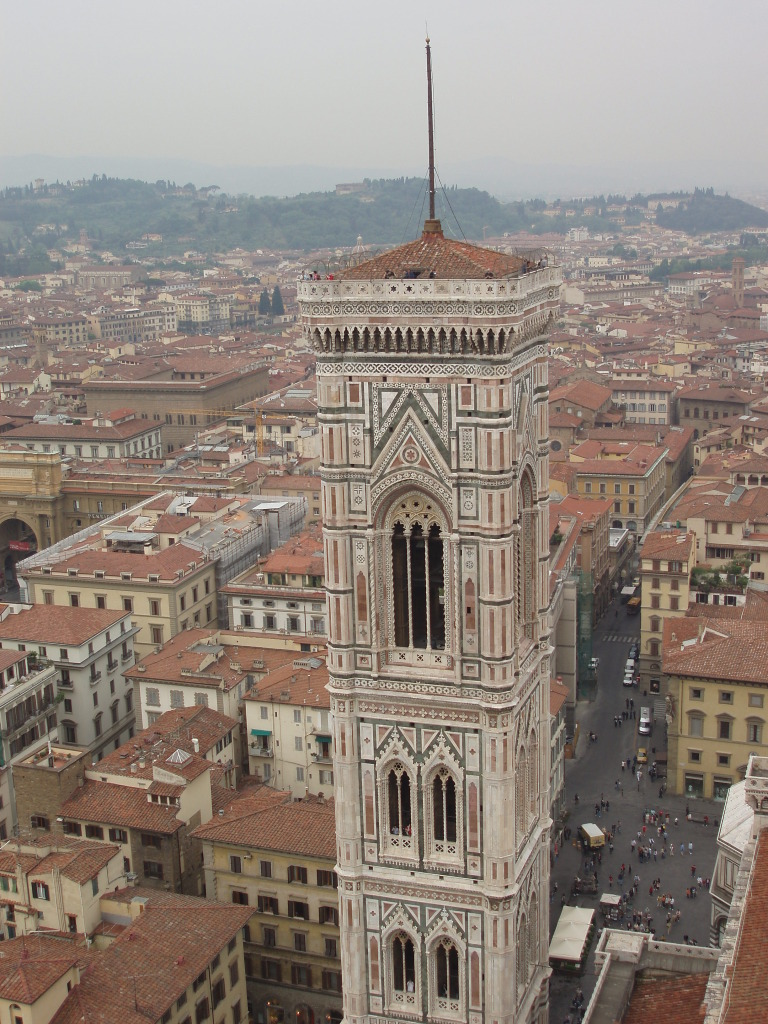 A view from the Cupola del Brunelleschi. Worth the hike to the top.