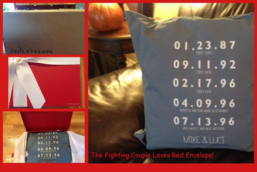 The Fighting Pillow. You can buy one that doesn't say fighting.