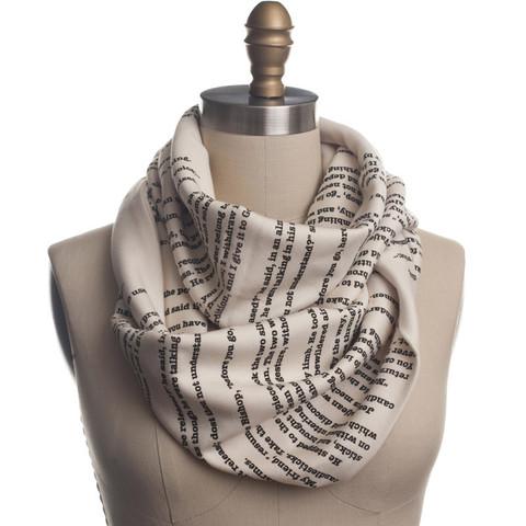 book scarf